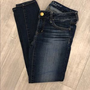 American Eagle size for short inseam 26 Jegging